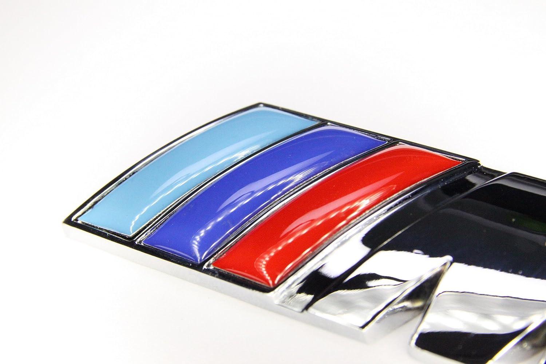 Spec-R New Style //////M Power 3D Grill Emblem Rya Auto Part