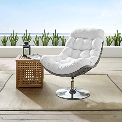 Awe Inspiring Amazon Com Modway Brighton Wicker Rattan Outdoor Patio Cjindustries Chair Design For Home Cjindustriesco