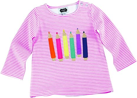 Mud Pie Little Girls Back-To-School Crayon Tunic 12-18 Months