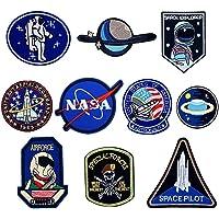 O-Kinee 10PCS Parches NASA Termoadhesivo para la Ropa