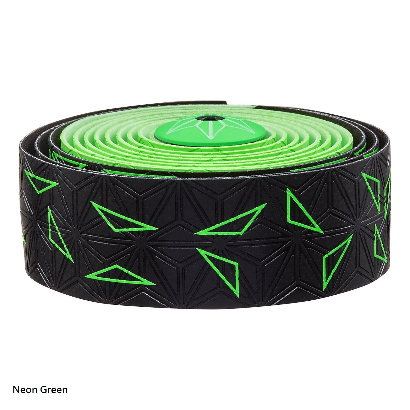 Supacaz Super Sticky Kush Star Fade Bar Tape (Neon Green)