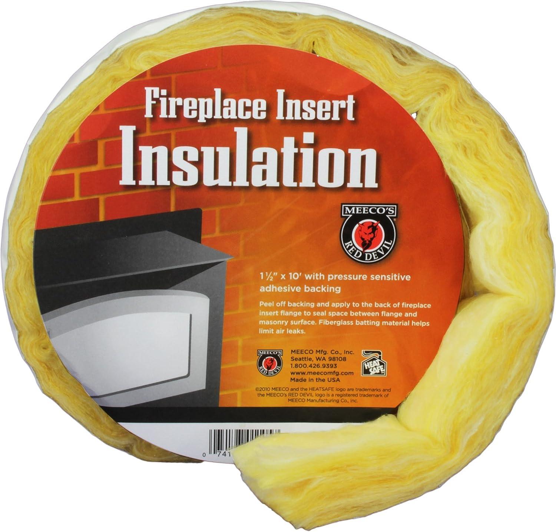 amazon com meeco u0027s red devil 1105 fireplace insert insulation