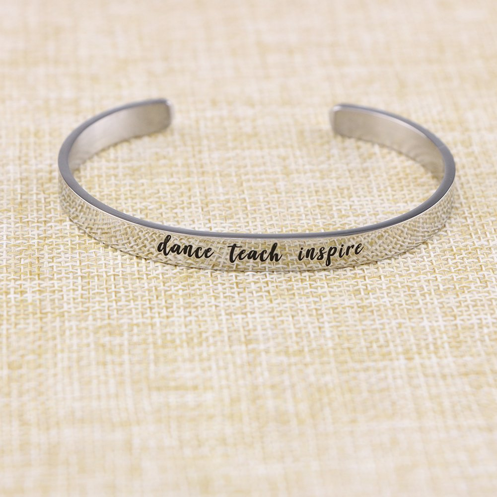 Yiyang Gift for Teacher Appreciation Jewelry for Graduation Gifts Personalized Dancer