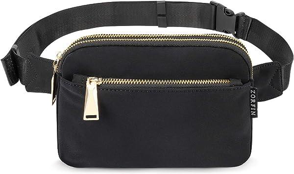 Women Waist Bag Leather Belt Pack Waterproof Hip Bag HARVEST Pocket Belt Bag Vegan Bum Bag Vegan Leather Belt Bag Festival Fanny Pack
