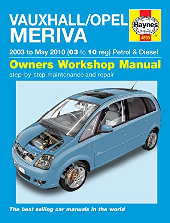 manual opel meriva 2004