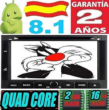 Peugeot 3008-5008 / Partner/Citroen Berlingo Android 8.1 Quad Core 2GB RAM 16