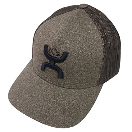 0df60cf65d879 Amazon.com: HOOey Coach Brown Flexfit Hat L/XL: Sports & Outdoors