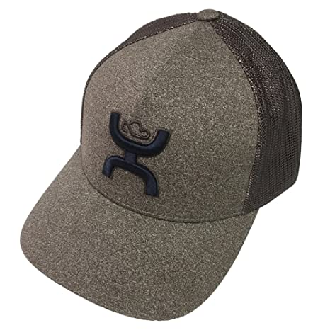 hot sale online 7fe95 d43a5 Amazon.com  Hooey Coach Brown Flexfit Hat L XL  Pet Supplies
