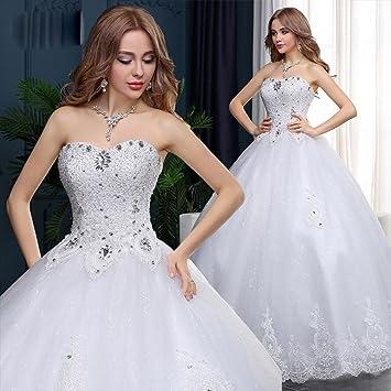 GXY Sommer Hochzeit Mode Rohr Top Schlank Handgemachte Diamant ...