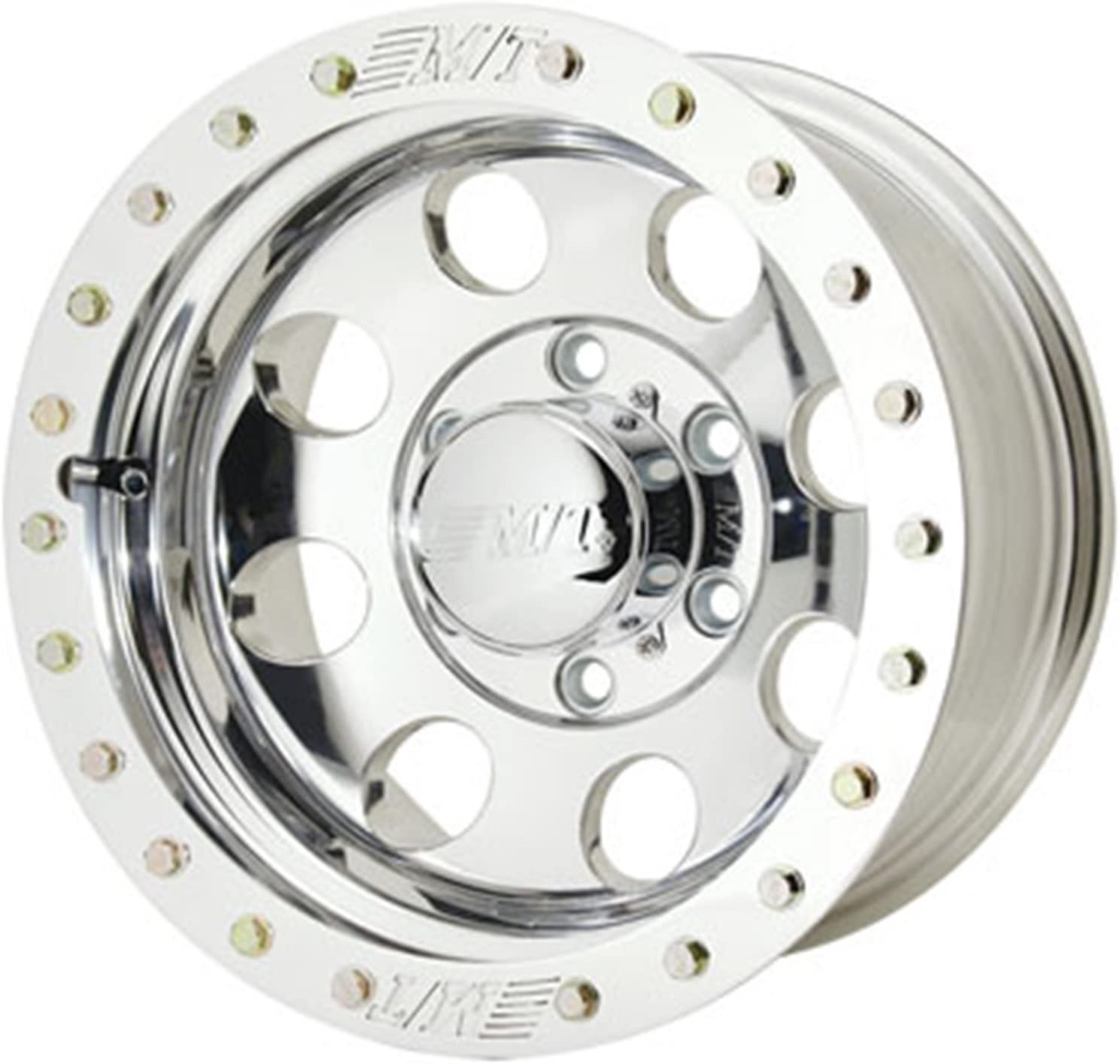 Amazon Com Mickey Thompson Classic Lock Wheel With Polished Finish 16x10 5x4 5 Automotive