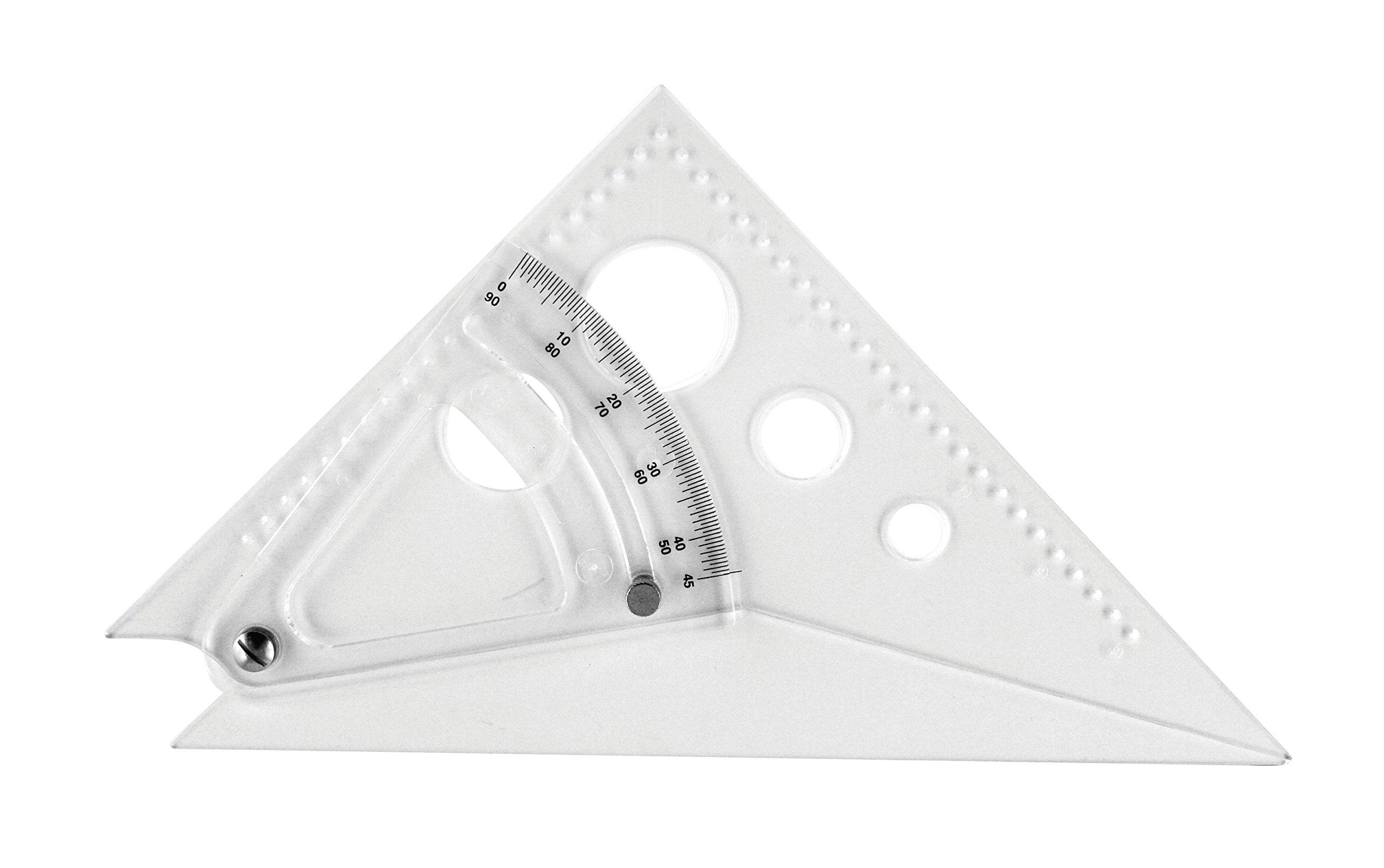 Westcott 8'' Adjustable Triangle Scale, at-8 by Westcott
