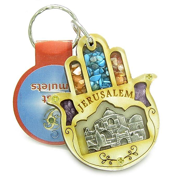 Amazon.com: Tierra Santa piedras preciosas amuleto poderes ...