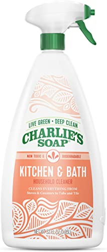 Charlie's Soap - Kitchen & Bath Household Cleaner
