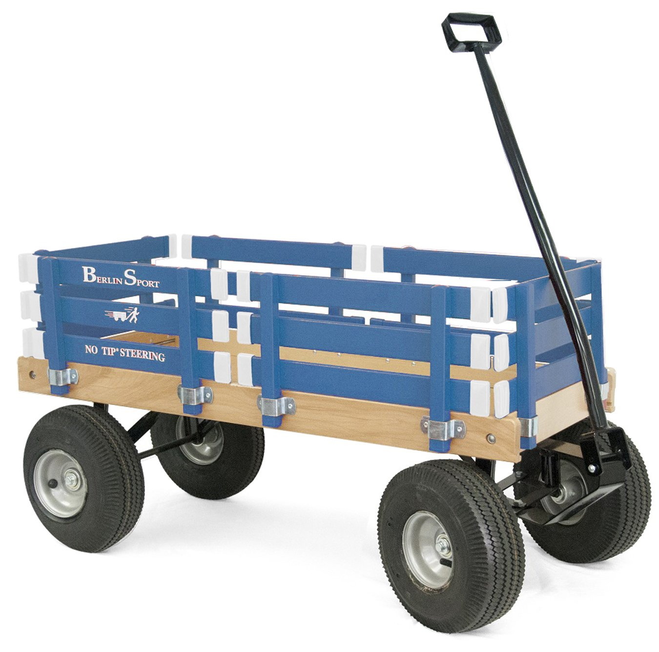 Berlin F410 Amish-Made Sport Ride-On Wagon, Navy by Berlin