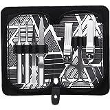 Coupe-ongles, Foraco 7PCS Manucure Pédicure, Soins Kits Sets Nail en Acier Inoxydable, Voyager Portable Manicure Set