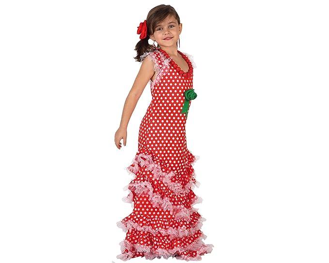 Atosa - Disfraz de sevillana unisex, talla 3-4 años (8422259071860 ...