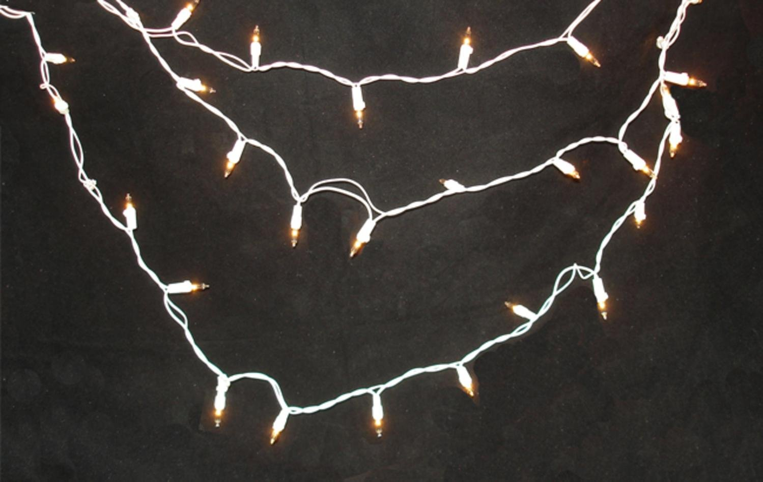 White Christmas Lights With White Wire