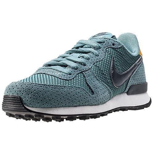 Nike 828404-300, Zapatillas de Deporte Mujer, Azul (Blue Sage/Dark Grey/Summit White), 35.5 EU