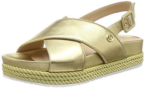 GoldSandalias Jo 02 Sandal Patty Metallic Con Liu Leather Punta T1clFKJ3