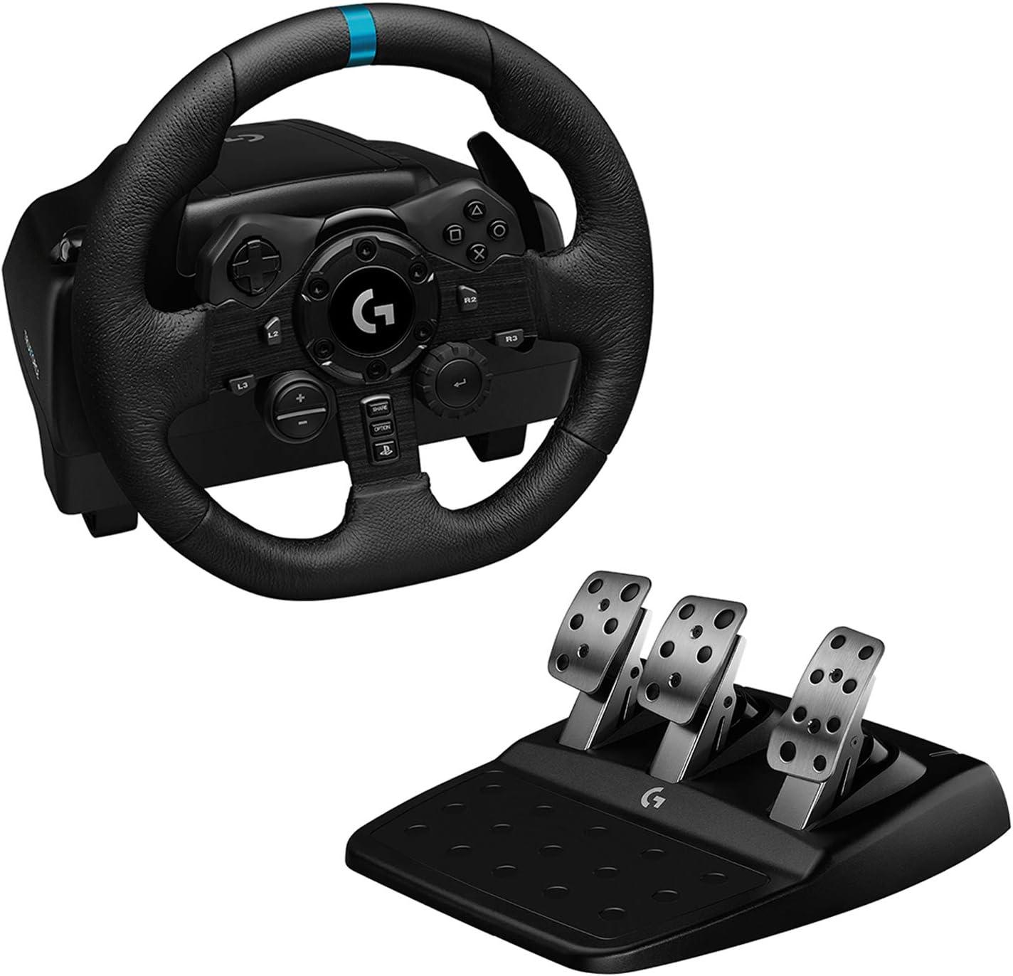Logitech G923 TRUEFORCE Racing Wheel & Pedals $347.77 Coupon