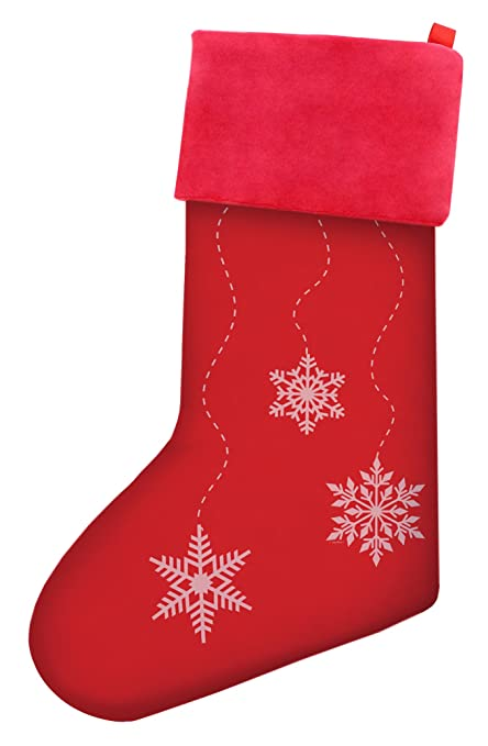 thiswear christmas stockings for kids christmas falling snowflake pattern christmas stockings for boys christmas gifts gift