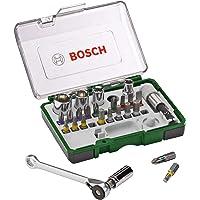 Kit de Pontas e Soquetes para parafusar Bosch com 27 peças