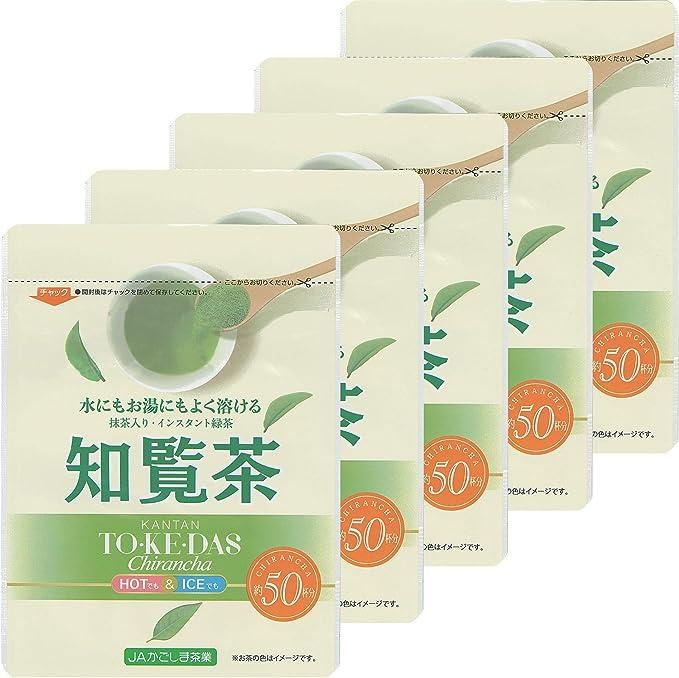 JAかごしま茶業 抹茶入り知覧茶インスタントティー 40g ×5袋 粉末