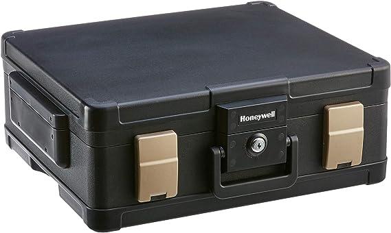 Honeywell 1104 - Caja fuerte para guardar documentos, impermeable, ignífuga, 11.1L: Amazon.es: Bricolaje y herramientas