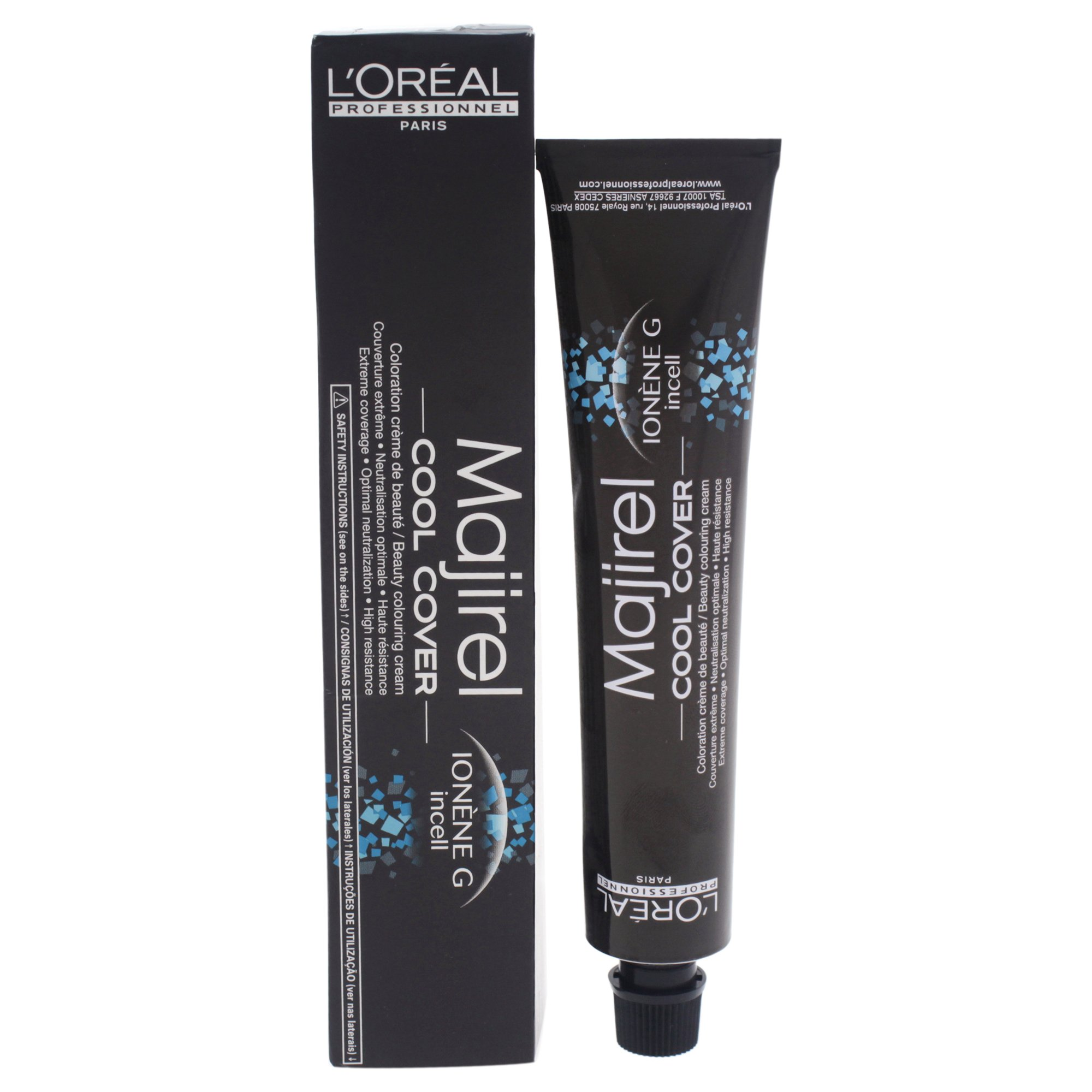 L'Oreal Professional Majirel Cool Cover Hair Color, No.8.3 Light Beige Golden Blonde, 1.7 Ounce