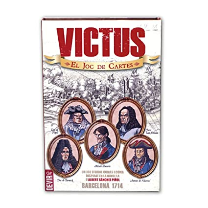 Amazon.com: Devir - Victus, juego de cartas (bgvictusc ...