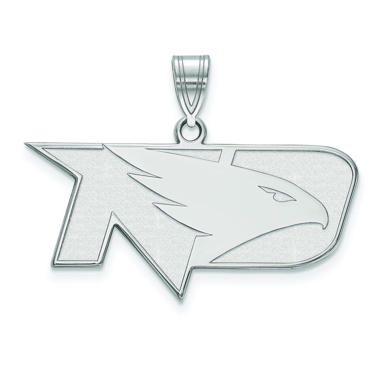 North Dakota Medium ( 5 / 8インチ)ペンダント( 10 Kホワイトゴールド)   B01JAOPK8I