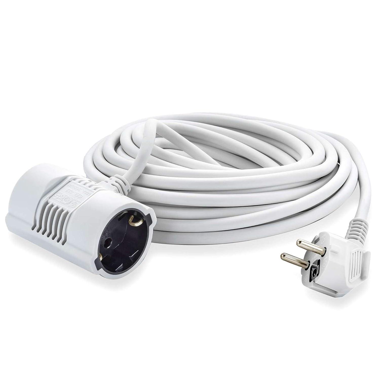 MutecPower 5 Metros Cable Alargador de Corriente Electrico ...