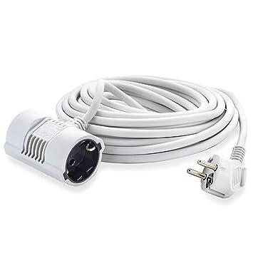 MutecPower 5 Metros Cable Alargador de Corriente Electrico de 2 ...