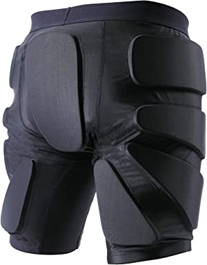 TFO Protective Padded Shorts Breathable Durable for Skateboard, Snowboard