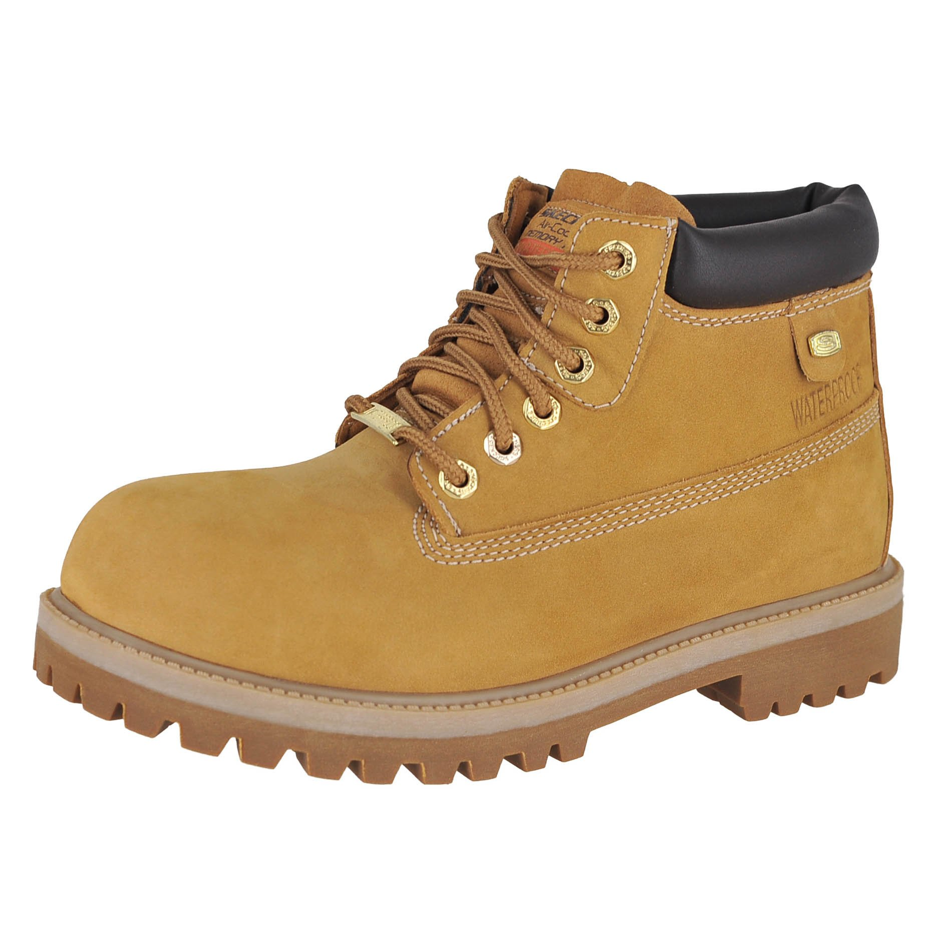 Skechers Mens Sergeants - Verdict Rain Boot, Wheat, Size 10.5