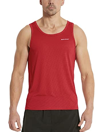 b10a6bf83756e Baleaf Men's Performance Quick-Dry Muscle Sleeveless Shirt Tank Top