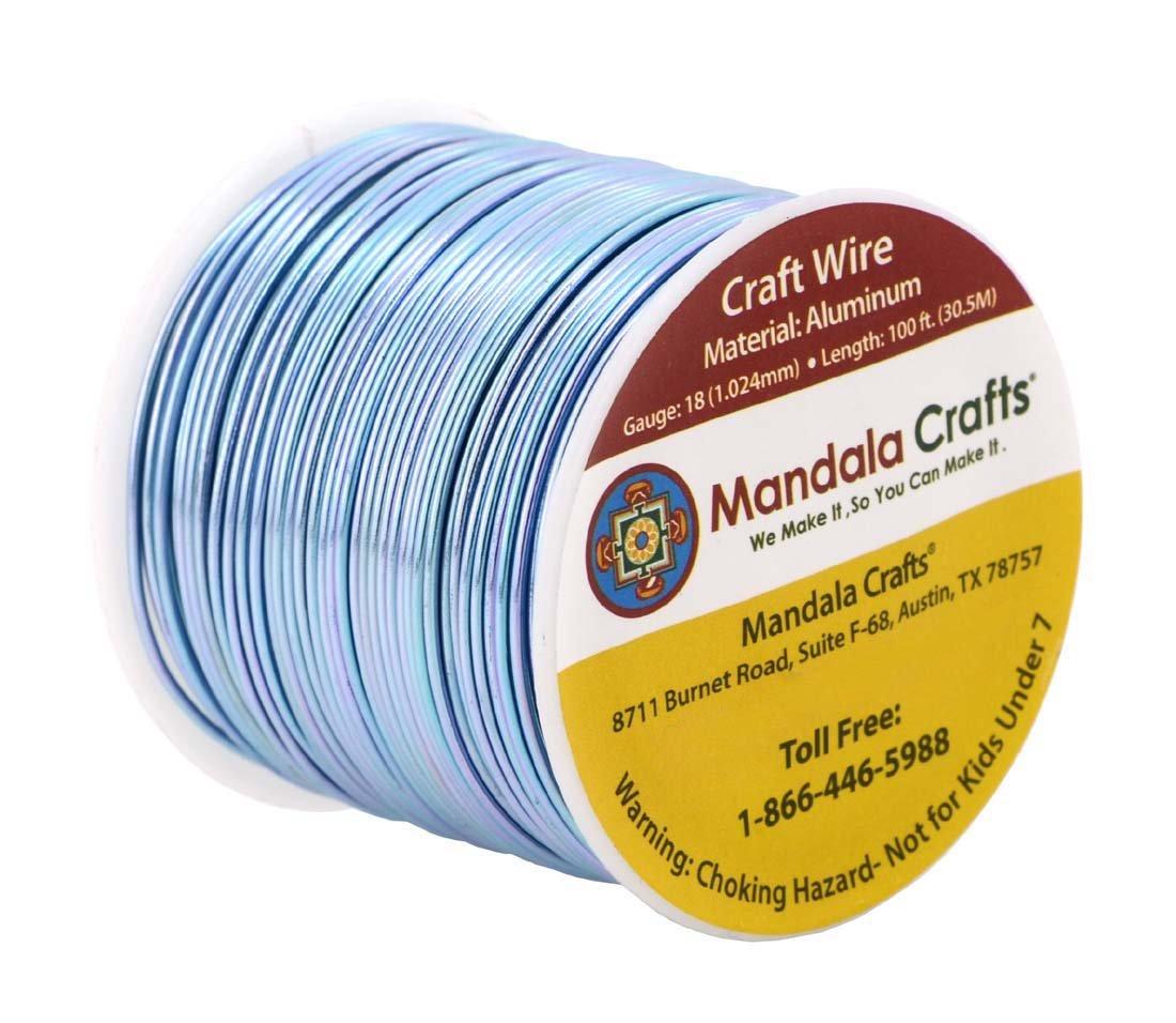 Amazon.com: Mandala Crafts 12 14 16 18 20 22 Gauge Anodized Jewelry ...