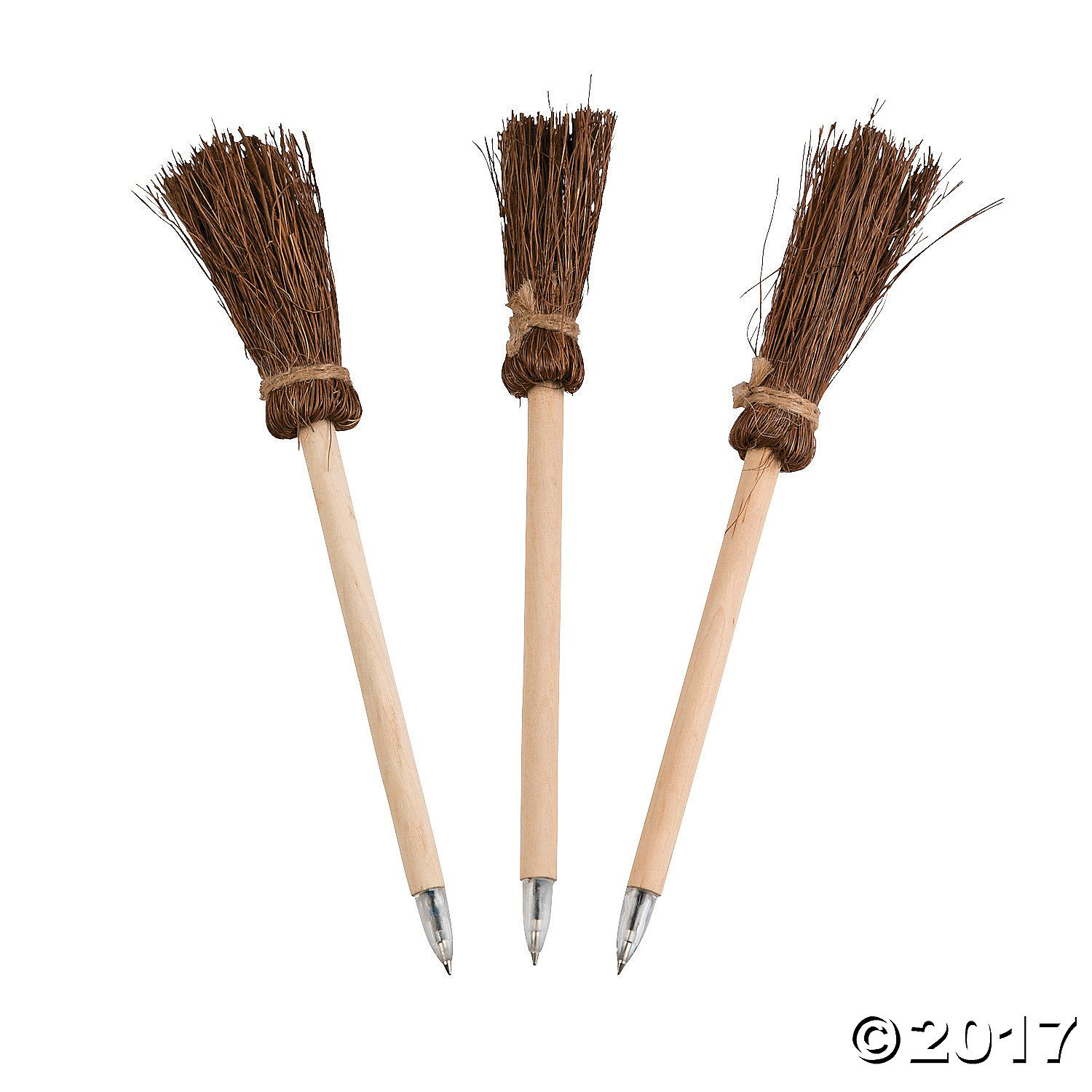 Witches Broom Pens - 24 ct by Fun Express (Image #1)