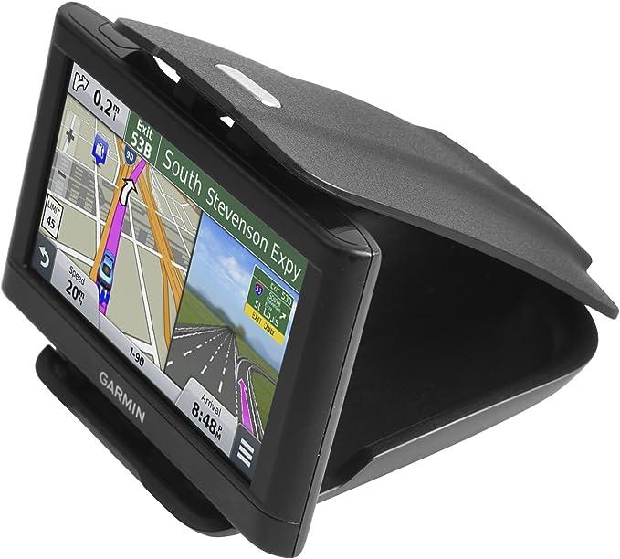 Amazon.com: Soporte GPS para salpicadero [Base negra mate ...