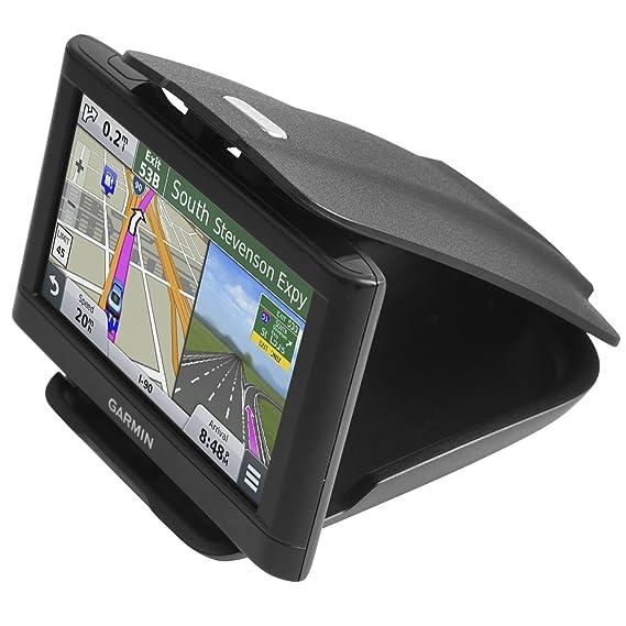 GPS Dash Mount [Matte Black Dock] for Garmin Nuvi Drive Dezl Drivesmart  Driveassist DriveLuxe, Tomtom, Magellan Roadmate, Navman - Car Sticky  Non-Slip