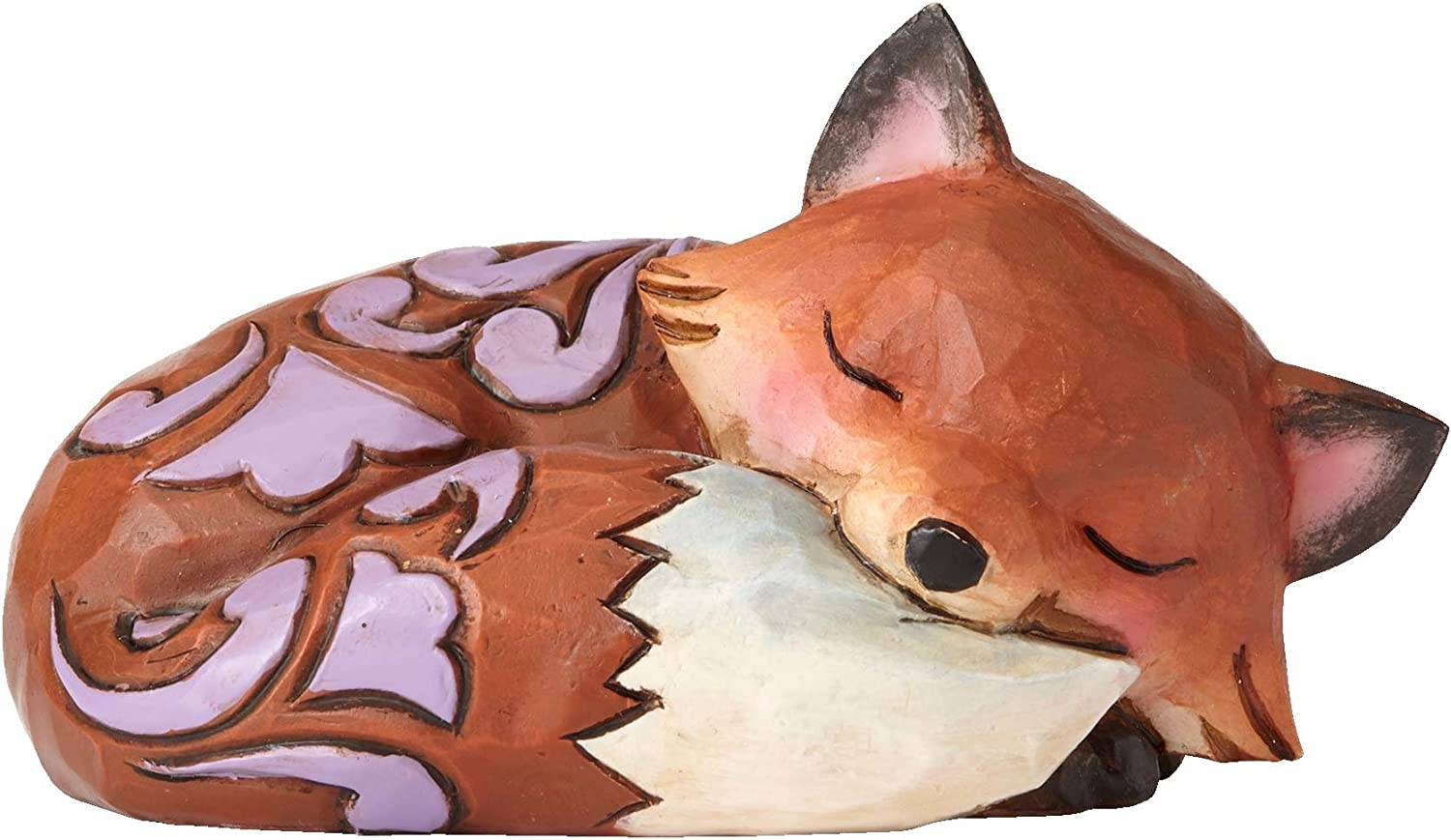Enesco Jim Shore HWC Mini Fox Sleeping