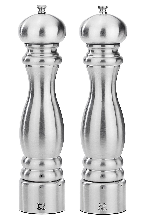 Peugeot Paris Chef u'Select Stainless Steel 30cm - 12'' Salt & Pepper Mill set