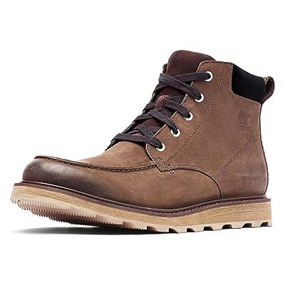 Sorel - Men's Madson Moc Toe Waterproof Boot, All-Weather Footwear for Everyday Wear | Rain