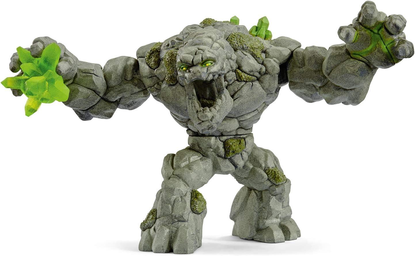 Schleich- Figura monstruo de Piedra, Color gris, 12 cm