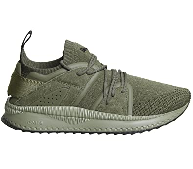 325859ad684386 PUMA Mens Sneakers Tsugi Blaze Evoknit Training Shoes-Green-8.5