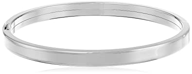 hinged sterling bangle bracelet silver eus stackable bangles jewelry bling style bamboo