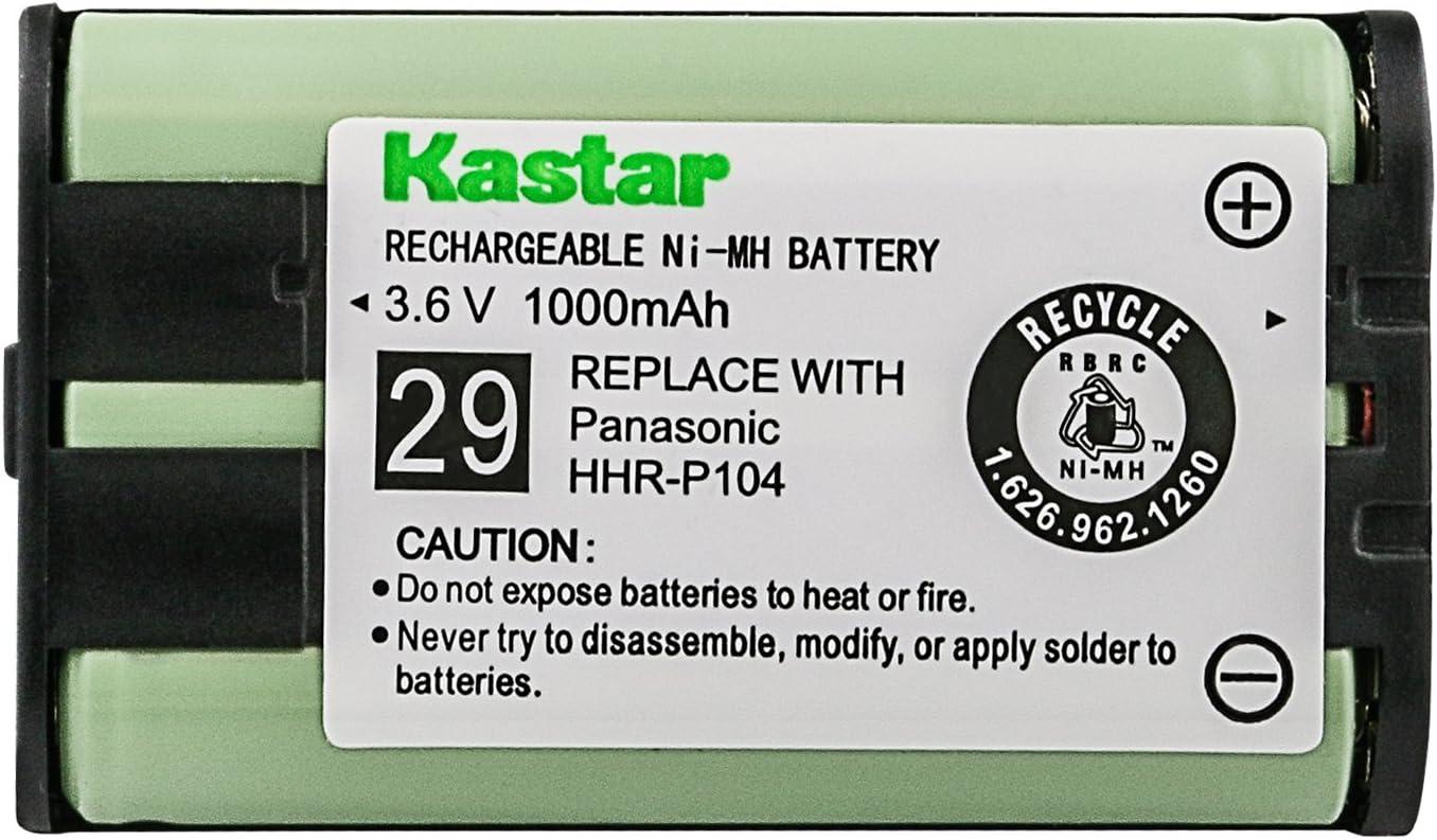 Type 29 Panasonic KX-TG5432 Cordless Phone Battery Replacement Battery For Panasonic HHR-P104