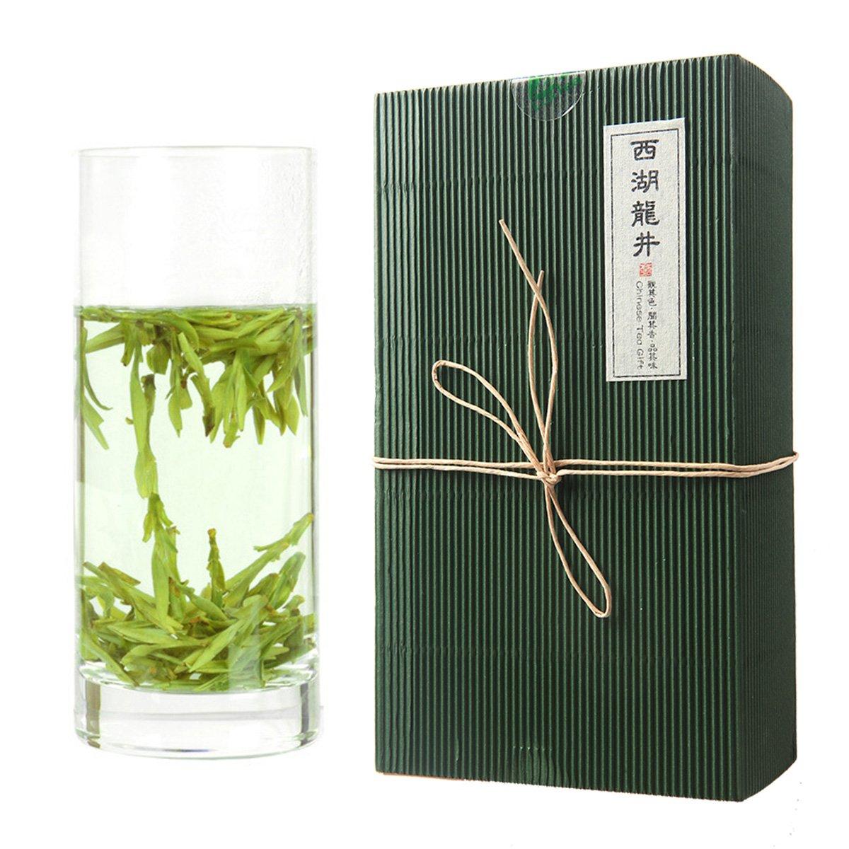 Luxtea Chinese Top10 Famous Tea -Xi Hu Long Jing/West lake Dragon Well/Longjing Green Tea - Grade AA (High Grade)