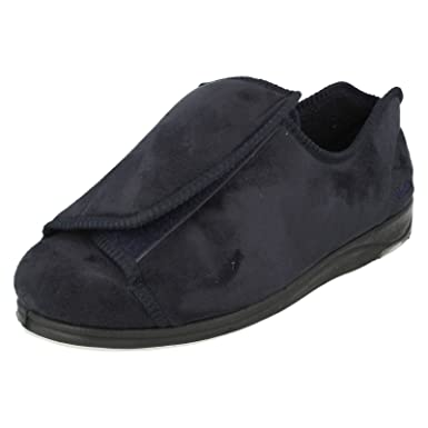 Mens Padders Extra Wide Slippers Peter
