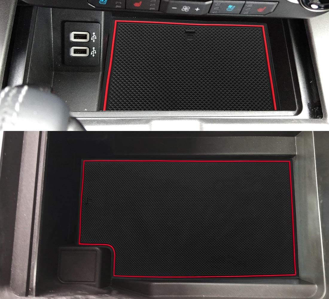 White Auovo Door Mats for Ford Flex 2020 2019 2013-2020 Interior Accessories Custom Fit Door Cup Center Console Anti Dust Liners Inserts 23pcs//Set